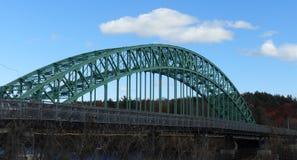 Γέφυρα έκτασης χάλυβα Στοκ Εικόνα
