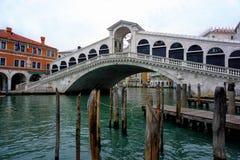 Γέφυρα ή Ponte Di Rialto Rialto στη Βενετία Στοκ Φωτογραφίες