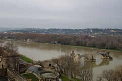 Γέφυρα Αγίου Benezet (Pont D'Avignon) Στοκ φωτογραφίες με δικαίωμα ελεύθερης χρήσης