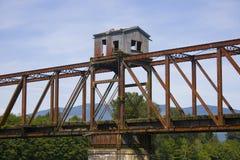 γέφυρα αγροτική Στοκ φωτογραφίες με δικαίωμα ελεύθερης χρήσης