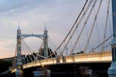 γέφυρα Αλβέρτου Στοκ Εικόνα