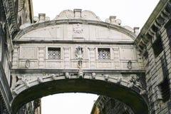 Γέφυρα αναπνοών στη Βενετία Στοκ Εικόνες