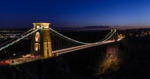 Γέφυρα αναστολής του Clifton, Clifton, Μπρίστολ στοκ εικόνα