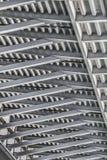 Γέφυρα αναστολής πέρα από τη λεπτομέρεια πλαισίου δοκών της Ada - Βελιγράδι - Στοκ φωτογραφία με δικαίωμα ελεύθερης χρήσης
