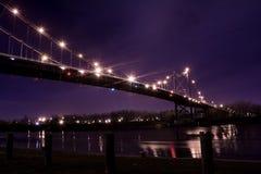 Γέφυρα αναστολής Στοκ Φωτογραφία