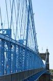 Γέφυρα αναστολής Στοκ εικόνα με δικαίωμα ελεύθερης χρήσης