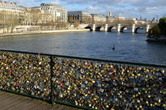Γέφυρα ανοιγμάτων εξαερισμού, Παρίσι Στοκ φωτογραφία με δικαίωμα ελεύθερης χρήσης