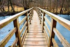 Γέφυρα απέναντι Στοκ Εικόνες