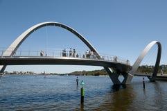 Γέφυρα αποβαθρών της Elizabeth - Περθ - Αυστραλία Στοκ εικόνες με δικαίωμα ελεύθερης χρήσης