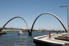 Γέφυρα αποβαθρών της Elizabeth - Περθ - Αυστραλία Στοκ Εικόνες