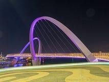 Γέφυρα αποβαθρών της Elizabeth Στοκ φωτογραφία με δικαίωμα ελεύθερης χρήσης