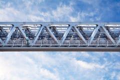 Γέφυρα από ένα σιδηρουργείο στοκ εικόνα