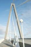 γέφυρα αρθούρου jr ravenel , Γέφυρα, Τσάρλεστον, νότια Καρολίνα Στοκ εικόνα με δικαίωμα ελεύθερης χρήσης