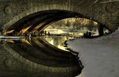 γέφυρα αρχιτεκτονικής π&alpha Στοκ εικόνες με δικαίωμα ελεύθερης χρήσης