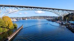γέφυρα αυγής στοκ εικόνα
