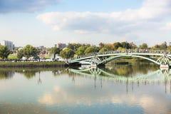 Γέφυρα αψίδων σε Tsaritsyno Στοκ Εικόνες