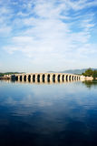 γέφυρα 17 αψίδων Στοκ Φωτογραφίες