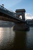Γέφυρα αλυσίδων από κάτω από Στοκ φωτογραφία με δικαίωμα ελεύθερης χρήσης