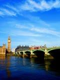 γέφυρα βαρκών Λονδίνο παλαιό Στοκ Φωτογραφία