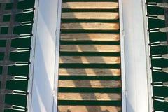 Γέφυρα βαρκών Στοκ εικόνες με δικαίωμα ελεύθερης χρήσης