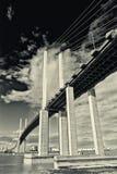 Γέφυρα βασίλισσας Elizabeth II Στοκ Φωτογραφία