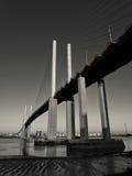 Γέφυρα βασίλισσας Elizabeth II Στοκ φωτογραφίες με δικαίωμα ελεύθερης χρήσης