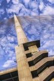 Γέφυρα Βελιγραδι'ου πέρα από τον πυλώνα της Ada Στοκ Φωτογραφία