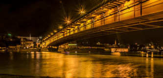 Γέφυρα Βελιγραδι'ου Στοκ Εικόνες