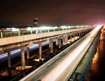 γέφυρα βιομηχανική Στοκ φωτογραφία με δικαίωμα ελεύθερης χρήσης