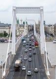 γέφυρα Βουδαπέστη elisabeth Ου&gamma Στοκ φωτογραφία με δικαίωμα ελεύθερης χρήσης
