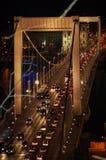 γέφυρα Βουδαπέστη elisabeth Στοκ Φωτογραφίες