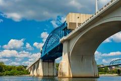 Γέφυρα γερανών του Σατανούγκα Στοκ Εικόνες
