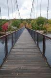 γέφυρα για πεζούς Στοκ Εικόνες