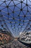 Γέφυρα για πεζούς Στοκ Φωτογραφία