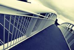 γέφυρα για πεζούς Στοκ φωτογραφίες με δικαίωμα ελεύθερης χρήσης