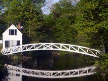γέφυρα για πεζούς Maine somesville Στοκ φωτογραφίες με δικαίωμα ελεύθερης χρήσης