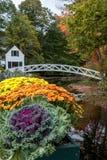 Γέφυρα για πεζούς Somesville Στοκ Φωτογραφία