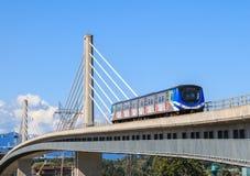 Γέφυρα γραμμών του Καναδά Στοκ εικόνα με δικαίωμα ελεύθερης χρήσης