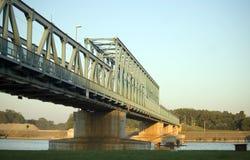 γέφυρα Δούναβης Novi Sad στοκ φωτογραφία με δικαίωμα ελεύθερης χρήσης