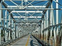 Γέφυρα εθνικών οδών της Αλάσκας Στοκ Φωτογραφία