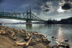 Γέφυρα ελευθερίας Στοκ εικόνες με δικαίωμα ελεύθερης χρήσης