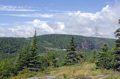 Γέφυρα επάνω δια την εθνική οδό του Καναδά Στοκ Φωτογραφία