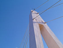 Γέφυρα εραστή στην αποβάθρα του ψαρά Danshui Στοκ Εικόνες