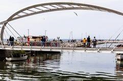 Γέφυρα εραστών της πόλης Yalova - Τουρκία Στοκ εικόνα με δικαίωμα ελεύθερης χρήσης