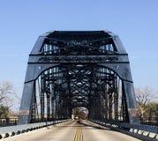 Γέφυρα λεωφόρων της Ουάσιγκτον σε Waco Τέξας στοκ φωτογραφίες με δικαίωμα ελεύθερης χρήσης