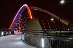 Γέφυρα λεωφόρων Lowry στη Μινεάπολη Στοκ Φωτογραφίες