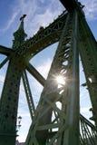 Γέφυρα ελευθερίας, Βουδαπέστη Στοκ Φωτογραφίες