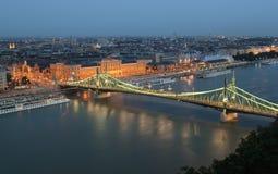 Γέφυρα ελευθερίας στη Βουδαπέστη Στοκ εικόνες με δικαίωμα ελεύθερης χρήσης