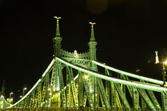 Γέφυρα ελευθερίας Στοκ Φωτογραφία