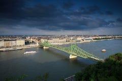 Γέφυρα ελευθερίας Στοκ Εικόνες